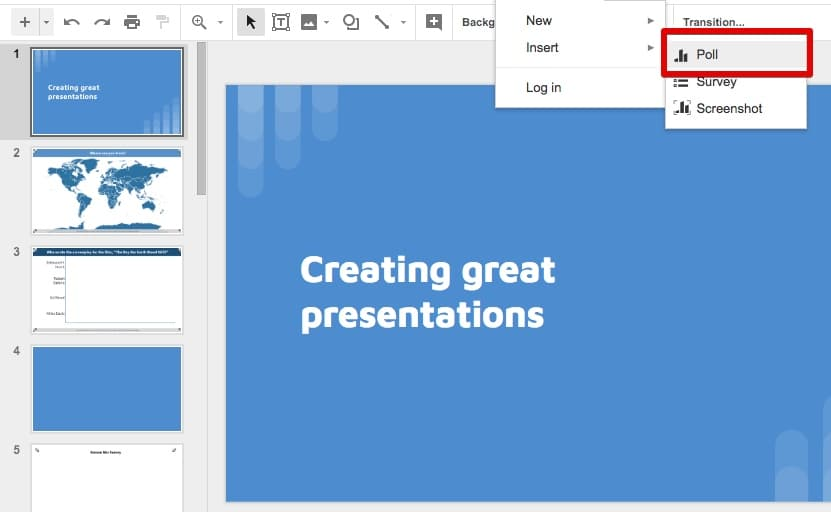 Google Slides Activities 5