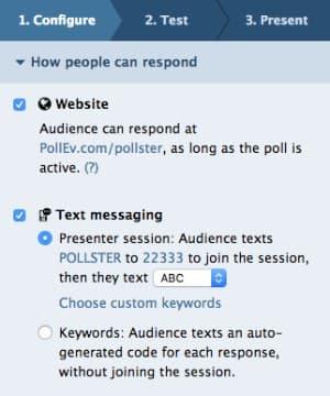 MPC response options