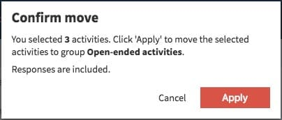 Select to move
