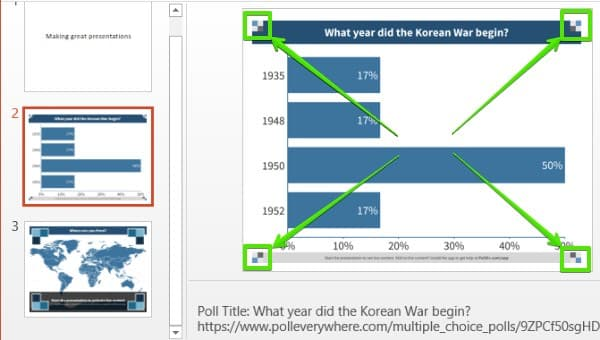 Poll Everywhere for Windows Insert Activities: Step 6