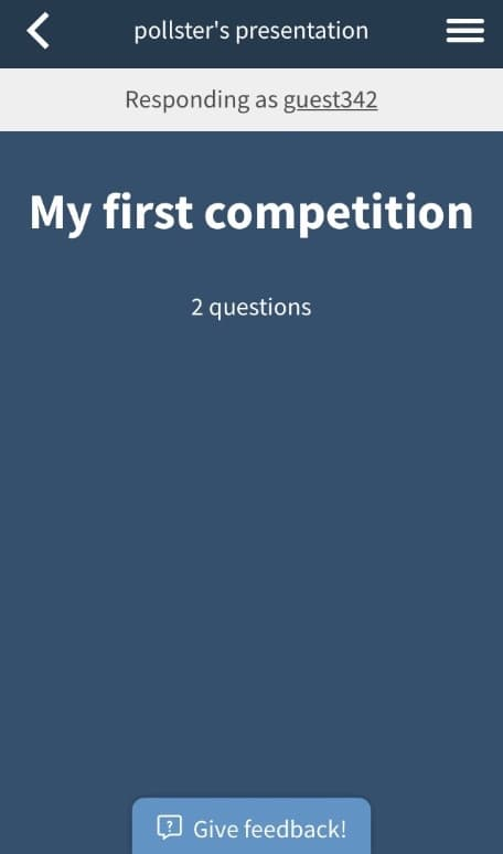 Competition title phase on the web